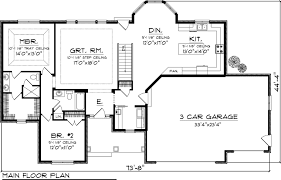 first floor plan ranch house house