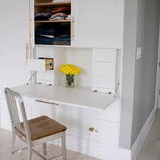 hidden office desk. Office In A Closet Hidden Desk
