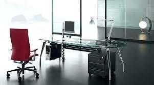 modern glass office desk. Glass Top Office Desk Interior Transform Creative Home Designing Modern T