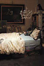 Medieval Bedroom Gothic Bedroom Decor With Wall Hanging Art And Chandelier And