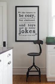 black and white wall art for the kitchen