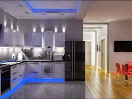 Beautiful Blue U0026 White Kitchen Designs. Kitchen Ceiling LightsKitchen .