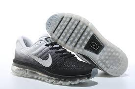 Original Nike Air Max <b>2017</b> Black White <b>Sports Running</b> Shoes ...