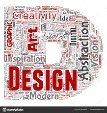 Words Associated With Graphic Design Words Cloud Shape Letter Conceptual Creativity Art Graphic