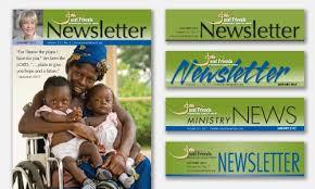 Newsletter Mastheads Newsletter Masthead Design Samples For Review