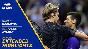 Novak Djokovic vs Alexander Zverev Extended Highlights | 2021 US Open  Semifinal - YouTube