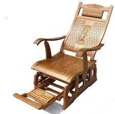 rocking chair modern bamboo rocking chair glider rocker natural bamboo furniture indoor living room rocking chair