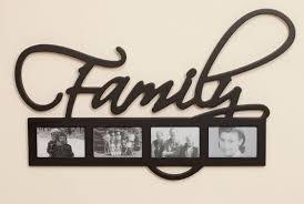 family word photo frame