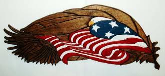 patriotic wall decor inspirational patriotic wall art eagle and flag wood by galleryatkingston