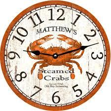 anchor wall clock crab clock anchor wall clock philippines