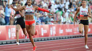 Gabby Thomas wins women's 200 final in ...