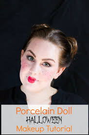 is almost here and this porcelain doll makeup tutorial is perfect for the holiday