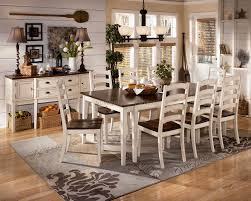 Outstanding Distressed Dining Room Table - Distressed dining room table and chairs