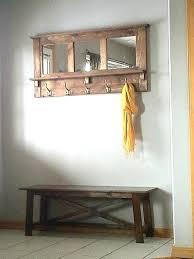 coat hanger with mirror coat rack wall coat rack mirrored coat rack rustic coat rack wooden