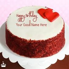 Happy Birthday Cake With Name