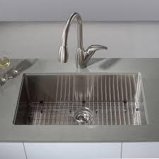 undermount stainless steel bathroom