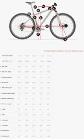 Trek Frame Size Chart Trek Stache Geometry Chart 29 Mountain Bike New Bicycle Trek