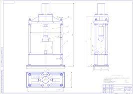 Дипломный проект на тему Усовершенствование технического  чертеж Дипломный проект на тему