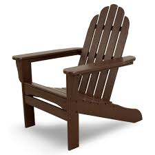 adirondack chair silhouette.  Silhouette Ivy Terrace Mahogany Plastic Patio Adirondack Chair With Silhouette R