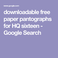 downloadable free paper pantographs for HQ sixteen - Google Search ... & downloadable free paper pantographs for HQ sixteen - Google Search Adamdwight.com