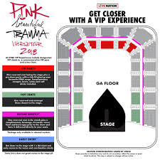 Melbourne Rod Laver Arena Seating Chart P Nk Rod Laver Arena