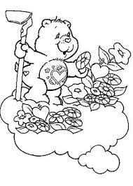 Small Picture Sleeping Bear Coloring Page