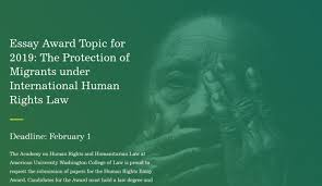 Academy On Human Rights And Humanitarian Law Essay Award For