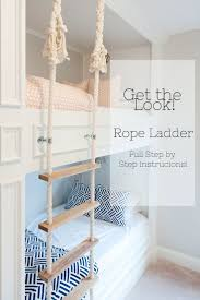 This post is a full tutorial of the rope ladder we made. For a tutorial