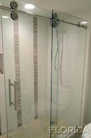 frameless roller shower door shower door rolling with chrome hardware and clear frameless rolling glass shower