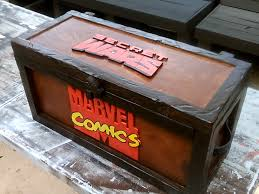 Comic Book Storage Cabinets Comic Book Storage Box Chest Secret Wars Marvel Make Video