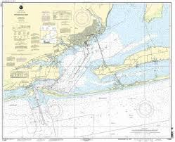 Noaa Chart 11416 Noaa Chart Pensacola Bay 54th Edition 11383