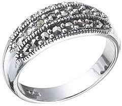 Серебряное <b>кольцо Марказит</b> HR326-<b>mr</b> с марказитами ...