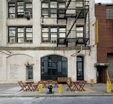 ar and dee design build wood glass facade brooklyn roasting company