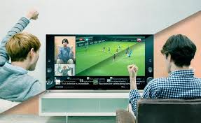 sony tv 4k. berbagi sosial di tv 3d cerdas sony tv 4k