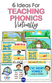 Students work on starting and finishing words. 6 Ideas To Teach Phonics Virtually Around The Kampfire