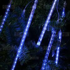 Commercial Snowfall Led Lights Eu String Light Tube Blue Finether 13 1 Ft 8 Tube 144 Led Meteor Shower Rain Snowfall Plug In String Lights For Holiday Christmas Halloween Party