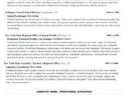Social Work Resumes Gorgeous Social Work Resume Sample From College Teaching Resume Instructor