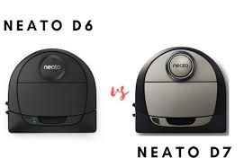 Neato D6 Vs D7 2019 Neato Botvac Vacuum Cleaners Comparison