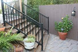 Wrought Iron Handrails For Exterior Stairs Pavilion And Outdoor Iron Handrails For Outdoor Stairs