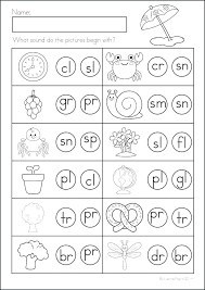 Blending Sounds Worksheet Activities Phonics Worksheets Footstep ...