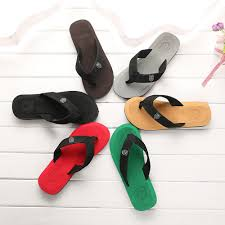 Happy Feet Slippers Size Chart Mens Summer Flip Flops Slippers Beach Sandals Indoor Outdoor Casual Shoes Man Platform Slippers Zapatos Hombre Fashion Shoes Happy Feet Slippers From