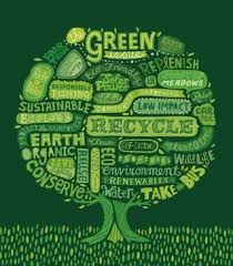 Go Green Print Green Recycle Earth Day Quotes Green
