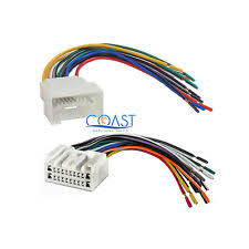 toyota tundra wiring harness car radio stereo wire wiring harness combo for select 2000 up toyota lexus