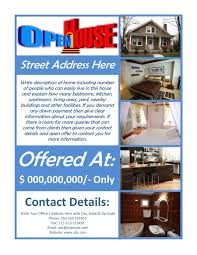 026 Template Ideas Home For Sale Flyer Templates Wonderful