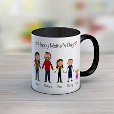 personalised mothers day gift husband gift personalised family mug mothers day mug