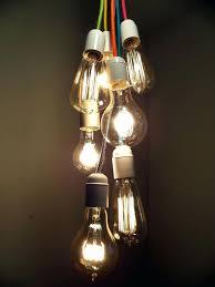 pendant light bulb 7 cer bulbs pendant light modern chandelier custom colors convert light bulb socket