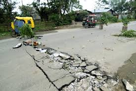 Image result for earthquake damage on highway