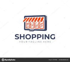 Awning Logo Design Online Store Logo Design Commerce Vector Design Shop Awning