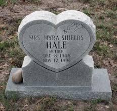Myra Shields Hale (1908-1996) - Find A Grave Memorial