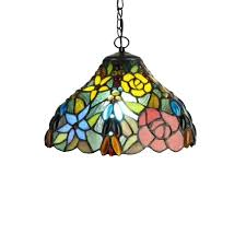 japanese stained glass lamp